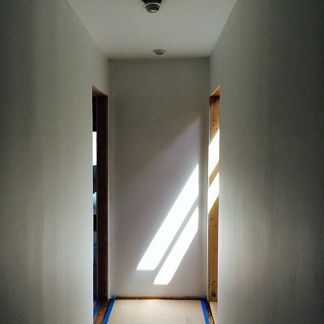 Skylight surprise.